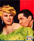 "Movie Posters:Comedy, Belle of the Nineties (Paramount, 1934). Jumbo Lobby Card (14"" X17"").. ... (Total: 2 Items)"