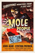"Movie Posters:Science Fiction, The Mole People (Universal International, 1956). One Sheet (27"" X41"").. ..."