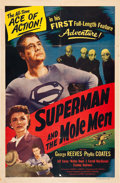 "Movie Posters:Action, Superman and the Mole Men (Lippert, 1951). One Sheet (27"" X 41"")....."