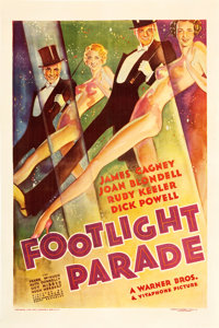 "Footlight Parade (Warner Brothers, 1933). One Sheet (27"" X 41"")"