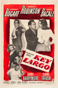"Movie Posters:Film Noir, Key Largo (Warner Brothers, 1948). One Sheet (27"" X 41"").. ..."