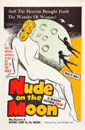 """Movie Posters:Sexploitation, Nude on the Moon (J.E.R. Pictures, 1961). One Sheet (27"""" X 41"""")....."""