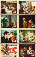 """Movie Posters:Film Noir, Nightmare Alley (20th Century Fox, 1947). Lobby Card Set of 8 (11"""" X 14"""").. ... (Total: 8 Posters)"""