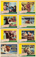 "Movie Posters:Romance, An Affair to Remember (20th Century Fox, 1957). Lobby Card Set of 8(11"" X 14"").. ... (Total: 8 Items)"
