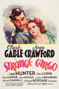 "Movie Posters:Drama, Strange Cargo (MGM, 1940). One Sheet (27"" X 41"") Style C.. ..."