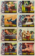 "Movie Posters:Science Fiction, Attack of the 50 Foot Woman (Allied Artists, 1958). Lobby Card Setof 8 (11"" X 14"").. ... (Total: 8 Items)"