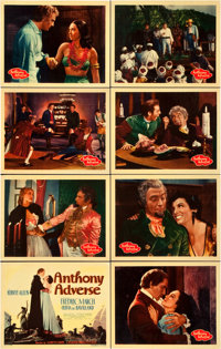 """Anthony Adverse (Warner Brothers, 1936). Lobby Card Set of 8 (11"""" X 14""""). ... (Total: 8 Items)"""
