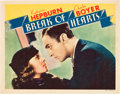 """Movie Posters:Romance, Break of Hearts (RKO, 1935). Lobby Cards (2) (11"""" X 14"""").. ... (Total: 2 Items)"""