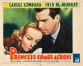 """Movie Posters:Comedy, The Princess Comes Across (Paramount, 1936). Lobby Card (11"""" X14"""").. ..."""