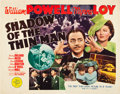 """Movie Posters:Mystery, Shadow of the Thin Man (MGM, 1941). Half Sheet (22"""" X 28"""").. ..."""
