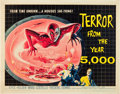 "Movie Posters:Science Fiction, Terror from the Year 5000 (American International, 1958). HalfSheet (22"" X 28"").. ..."