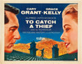 """Movie Posters:Hitchcock, To Catch a Thief (Paramount, 1955). Half Sheet (22"""" X 28"""") StyleB.. ..."""