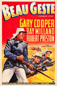"""Beau Geste (Paramount, 1939). One Sheet (27"""" X 41"""") Style A"""