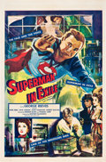 "Movie Posters:Action, Superman in Exile (20th Century Fox, 1954). One Sheet (27"" X 41"")....."