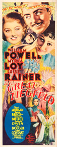 "Movie Posters:Musical, The Great Ziegfeld (MGM, 1936). Insert (14"" X 36"").. ..."