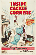 "Movie Posters:Animation, Inside Cackle Corners (MGM, 1951). One Sheet (27"" X 41"").. ..."