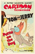"Movie Posters:Animated, Puttin' On The Dog (MGM, R-1951). One Sheet (27"" X 41"").. ..."