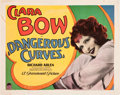 "Movie Posters:Comedy, Dangerous Curves (Paramount, 1929). Title Lobby Card (11"" X 14"")....."