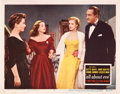 "Movie Posters:Drama, All About Eve (20th Century Fox, 1950). Lobby Card (11"" X 14"")....."