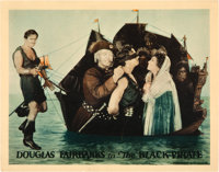 """The Black Pirate (United Artists, 1926). Lobby Cards (3) (11"""" X 14""""). ... (Total: 3 Items)"""