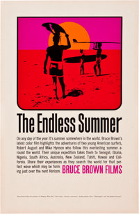 """The Endless Summer (Cinema 5, 1966). Poster (11"""" X 17"""")"""