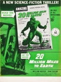 """Movie Posters:Science Fiction, 20 Million Miles to Earth (Columbia, 1957). Newsstand Poster (10.5"""" X 14"""").. ..."""