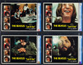 """Movie Posters:Rock and Roll, Let It Be (United Artists, 1970). CGC Graded Lobby Card Set of 8 (11"""" X 14"""").. ... (Total: 8 Items)"""