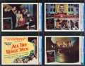 "Movie Posters:Academy Award Winners, All the King's Men (Columbia, 1949). CGC Graded Lobby Card Set of 8(11"" X 14"").. ... (Total: 8 Items)"