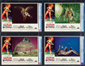 """Movie Posters:Science Fiction, Barbarella (Paramount, 1968). CGC Graded Lobby Card Set of 8 (11"""" X14"""").. ... (Total: 8 Items)"""