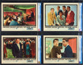 """Movie Posters:Crime, Ocean's 11 (Warner Brothers, 1960). CGC Graded Lobby Card Set of 8 (11"""" X 14"""").. ... (Total: 8 Items)"""