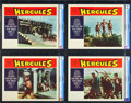 "Movie Posters:Adventure, Hercules (Embassy, 1959). CGC Graded Lobby Card Set of 8 (11"" X14"").. ... (Total: 8 Items)"