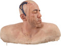 Movie/TV Memorabilia:Props, Tom and Bari Burman Chicago Hope Prop Male Surgery SpecialEffects Bust....