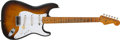 Musical Instruments:Electric Guitars, 1956 Fender Stratocaster Sunburst Guitar, #16123.... (Total: 2 )