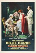 "Movie Posters:Drama, Gloria's Romance (K-E-S-E Service, 1916). One Sheet (27"" X 41"") ""AModern Pirate"".. ..."