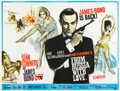 "Movie Posters:James Bond, From Russia with Love (United Artists, 1964). British Quad (30"" X 40"").. ..."