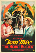 "Movie Posters:Western, The Heart Buster (Fox, 1924). One Sheet (27"" X 41"").. ..."