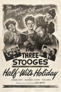 """Movie Posters:Comedy, Half-Wits Holiday (Columbia, 1947). One Sheet (27"""" X 41"""").. ..."""