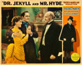 """Movie Posters:Horror, Dr. Jekyll and Mr. Hyde (Paramount, 1931). Lobby Card (11"""" X 14"""")....."""