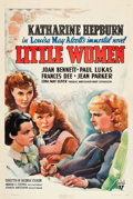 "Movie Posters:Drama, Little Women (RKO, R-1938). One Sheet (27"" X 41"").. ..."