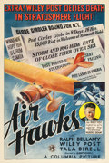"Movie Posters:Action, Air Hawks (Columbia, 1935). One Sheet (27"" X 41"").. ..."