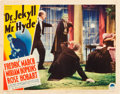 "Movie Posters:Horror, Dr. Jekyll and Mr. Hyde (Paramount, R-1936). Lobby Card (11"" X14"").. ..."