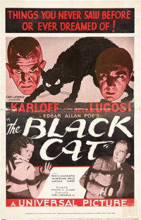The Black Cat (Universal, 1934). Pressbook (Multiple Pages)