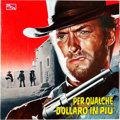 "Movie Posters:Western, For a Few Dollars More (PEA, 1965). Italian Program (13"" X 13"") andItalian Theater Mobile (8.5"" X 12"").. ... (Total: 2 Items)"