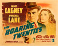 "Movie Posters:Crime, The Roaring Twenties (Warner Brothers, 1939). Half Sheet (22"" X28"").. ..."