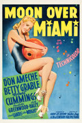 "Movie Posters:Musical, Moon Over Miami (20th Century Fox, 1941). One Sheet (27"" X 41"")Style B.. ..."