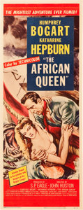 "Movie Posters:Adventure, The African Queen (United Artists, 1952). Insert (14"" X 36"").. ..."