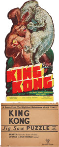 "Movie Posters:Horror, King Kong (RKO, 1933). Jigsaw Puzzle (150 Pieces) (Approx.11"" X20"").. ..."