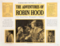 """Movie Posters:Swashbuckler, The Adventures of Robin Hood (Warner Brothers, 1938). Educational Panels (5) (19"""" X 25"""").. ... (Total: 5 Posters)"""
