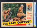"Movie Posters:Adventure, The Last Outpost (Paramount, 1935). CGC Graded Lobby Card (11"" X14""). Adventure.. ..."
