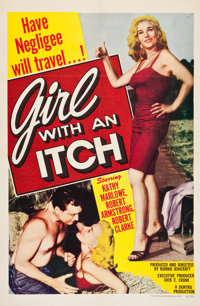 """Girl With An Itch (Howco, 1958). One Sheet (27"""" X 41"""")"""